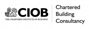 New CIOB - Chartered Building Consultancy Logo (black)